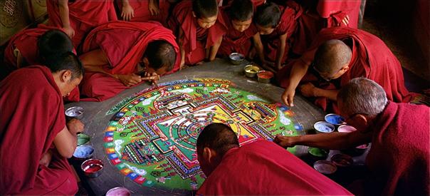 Sand MandalaLadakh, India
