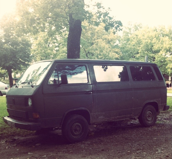 when we saw this for a first time, we were like, yeah we got our van